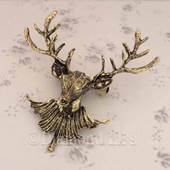 Stag Brooch (Bronze)