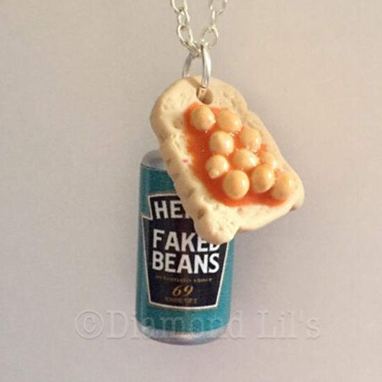 Beans On Toast & Tin Necklace
