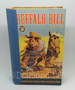 Buffalo Bill Book Design Trinket Box
