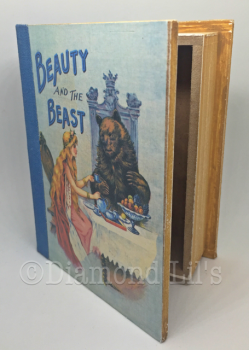 Beauty & The Beast Story Book Design Trinket Box