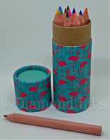 Flamingo Colouring Pencils