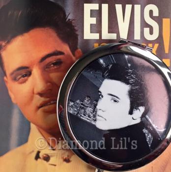 Elvis Compact Mirror