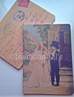 Vintage Postcard Pocket Notebook