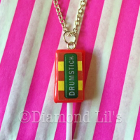 Drumstick Lolly Necklace