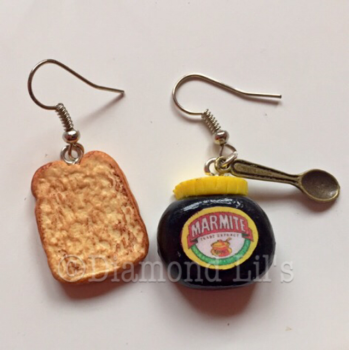 Marmite & Toast Earrings