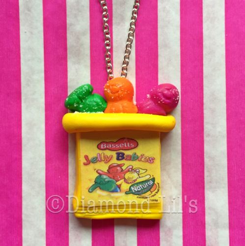 Jelly Baby Necklace