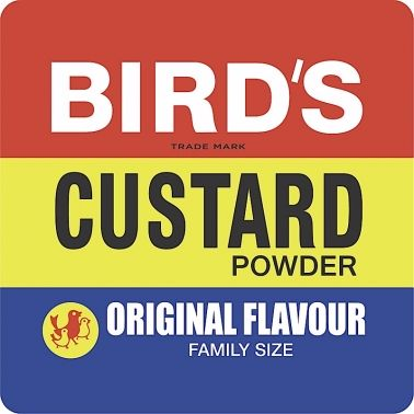 Bird's Custard Powder Coaster