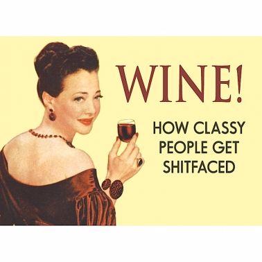 Wine! Magnet