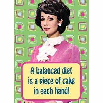 A Balanced Diet... Magnet