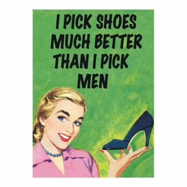 """I Pick Shoes..."" Magnet"