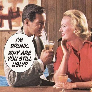 """I'm Drunk..."" Coaster"