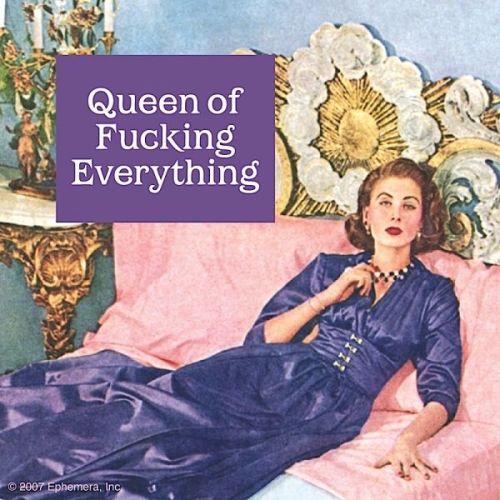 'Queen Of...' Coaster