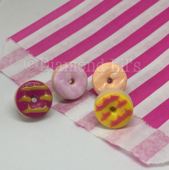 Party Ring Earrings