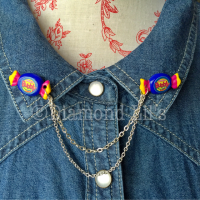 Bubbly Bubblegum Collar/Cardigan Pins