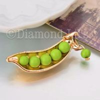 Like Peas In A Pod Brooch