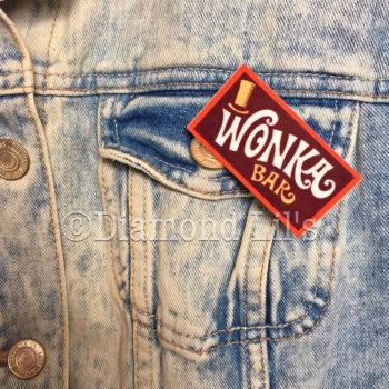 Wonka Bar Brooch