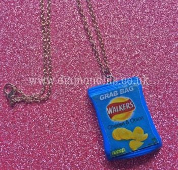Crisp Packet Necklace
