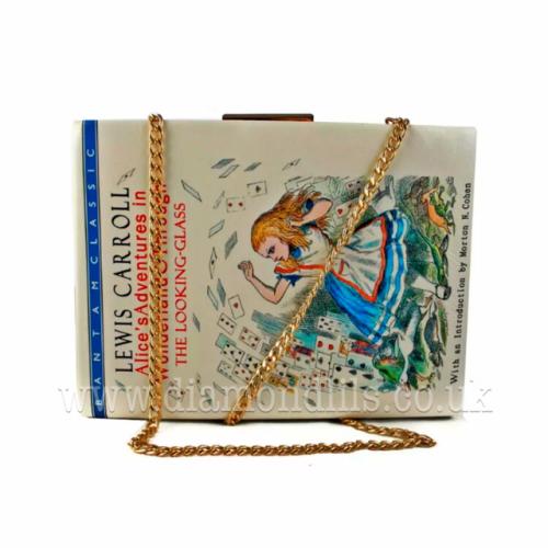 Alice's Adventures In Wonderland Book Bag & Matching Purse