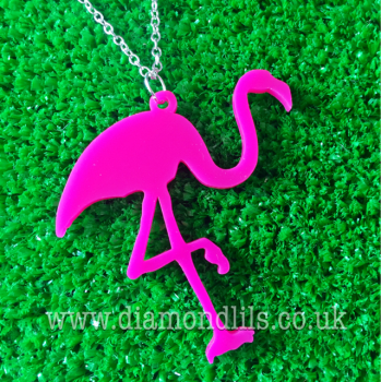 Funky Flamingo Necklace