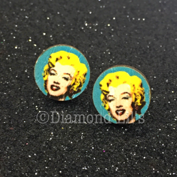 Marilyn Monroe Pop Art Earrings