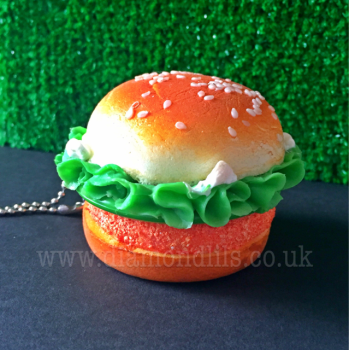 Chicken Burger Compact Mirror