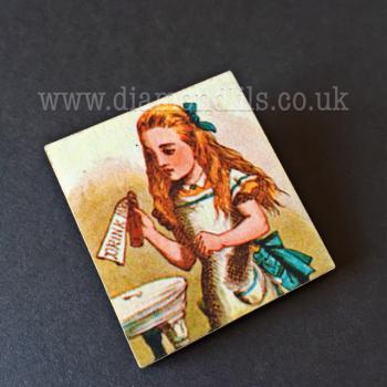 Alice In Wonderland Scene Brooch