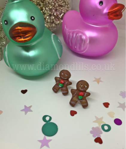 George The Gingerbread Man Earrings