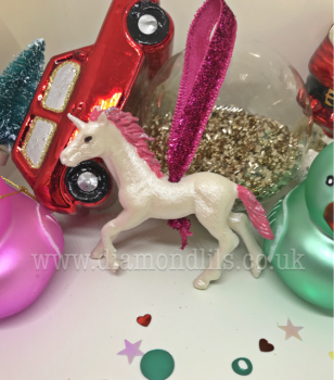 Mystical Unicorn Hanging Tree Decoration