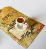 Tea & Fondant Fancy Necklace