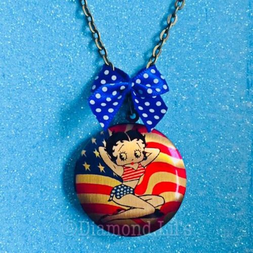 Betty Boop Locket