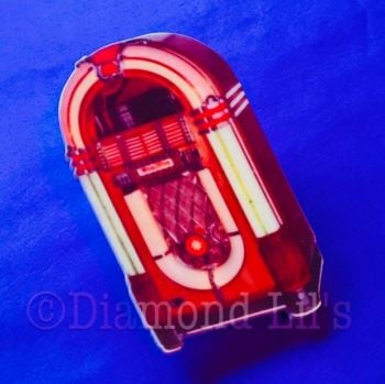 Jukebox Brooch