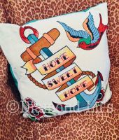 Tattoo Tapestry Cushion