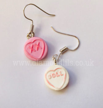 Mini Love Heart Earrings