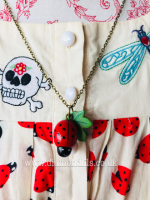 Betty Love Bug Necklace