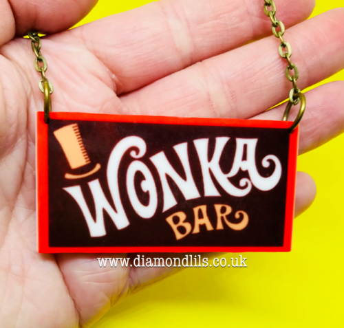 Wonka Bar Necklace