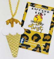 Ice Cream You Scream Necklace