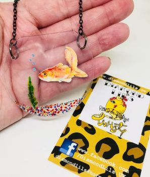 Goldfish Bowl Necklace
