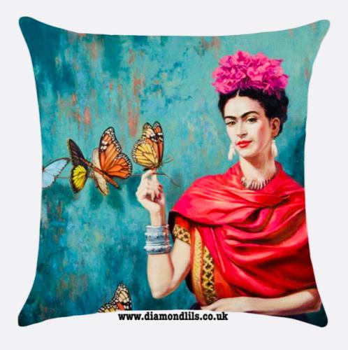 Frida Kahlo Cushion Cover (#1)
