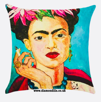 Frida Kahlo Cushion Cover (#2)