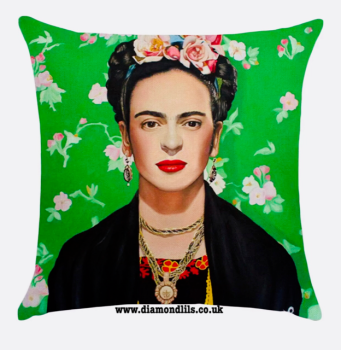 Frida Kahlo Cushion Cover (#3)