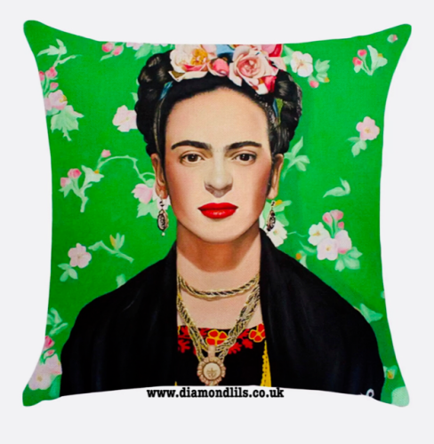 Frida Kahlo Cushion Cover (#3)