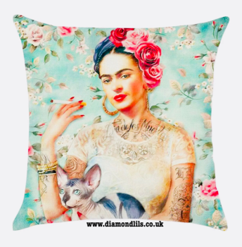 Frida Kahlo Cushion Cover (#4)