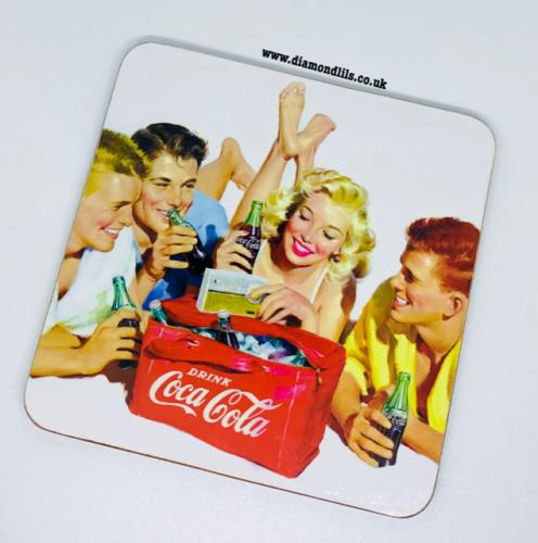 Coca Cola Coaster (#1)