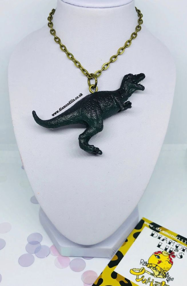 Trevor T-Rex Necklace
