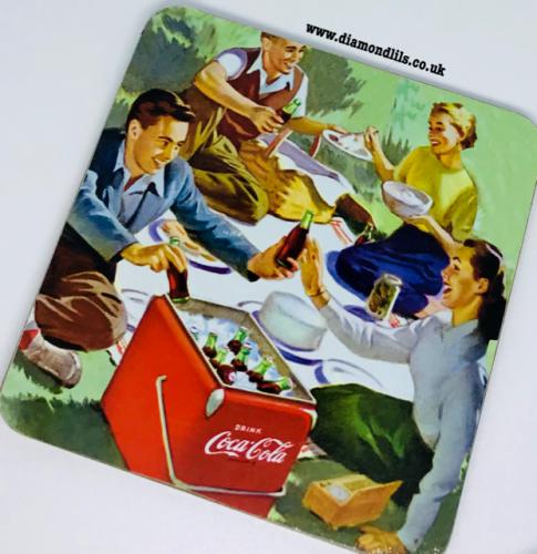 Coca Cola Coaster (#2)