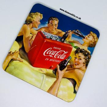 Coca Cola Coaster (#6)