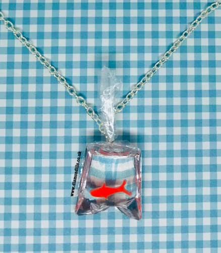 Fairground Goldfish Necklace
