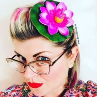 Lily Pad Fascinator/Hair Accessory