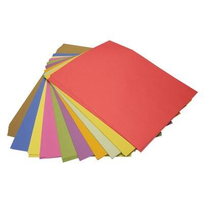 Junior Assorted Sugar Paper - Please Select Size - 80gsm - Pack of 250