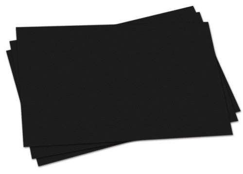 Black Sugar Paper - Please Select Size - 80gsm - Pack of 250